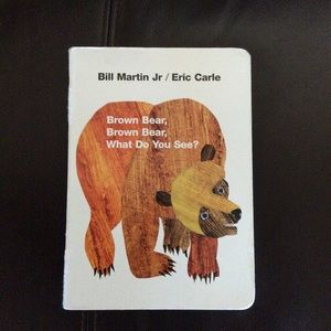 Children's book by Eric Carle Brown bear hardcover